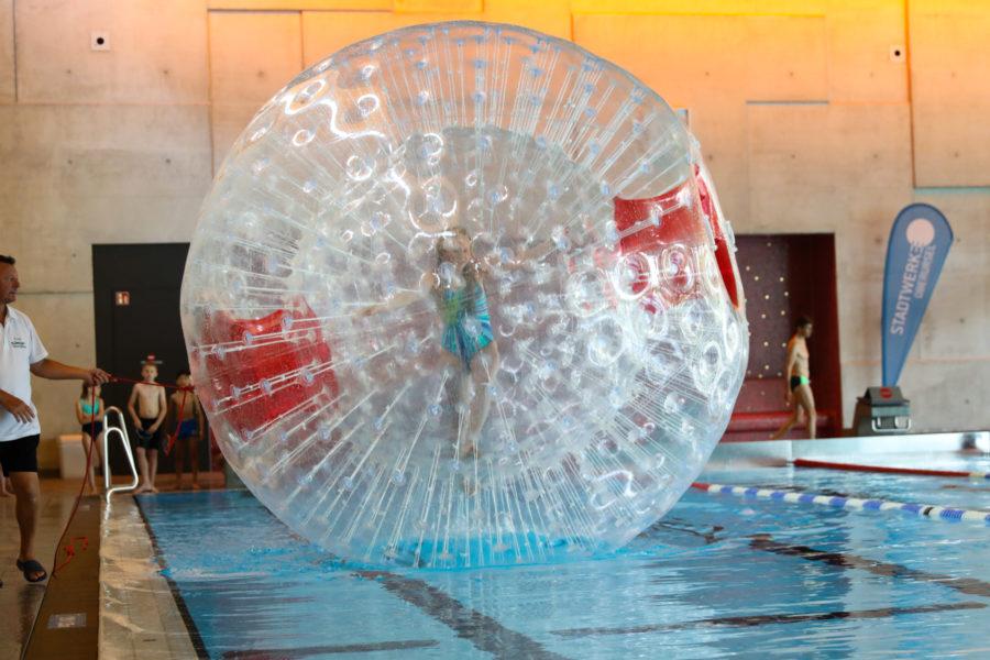 Wasser-Laufball